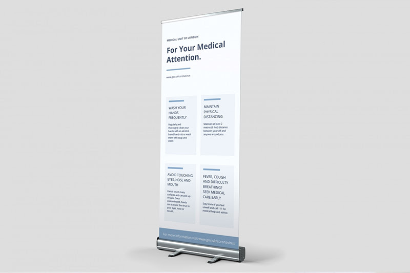 advice roller banners